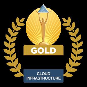 2021 Gold Stevie Winner Cloud Infrastructure